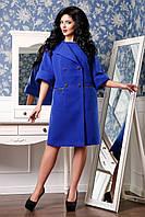 Женское стильное кашемировое демисезонное пальто арт. 928 Тон 417