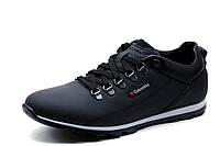 Туфли спортивные Columbia, мужские, натуральная кожа, черные, р. 40