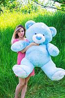 Голубой медведь игрушка 160 см