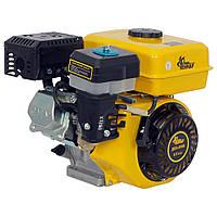 Бензиновый двигатель Кентавр ДВЗ-200Б (6,5 л.с., ручной старт, шпонка Ø19,05 мм, L=58,5 мм) + доставка