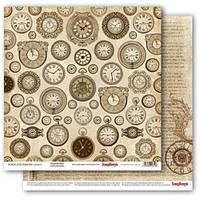 Бумага для скрапбукинга Брегет Библиотека Scrapberry's, 1 шт