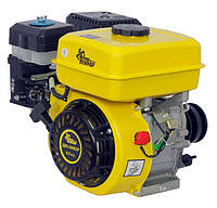 Бензиновый двигатель Кентавр ДВЗ-200БЗР (6,5 л.с, шпонка Ø19,05, L=58.5 мм, 3-х шкив) + доставка