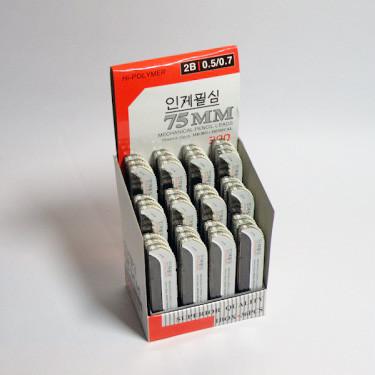 Грифелі для хутро. олівця 0,7 мм поштучно і упаковка