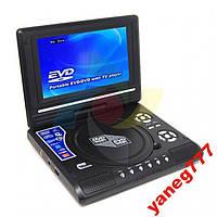 Портативный DVD-плеер с 7,8 дюймовым экраном+USB+TV