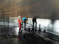 Очищаем резервуары от остатков мазута, нефтепродуктов. Наша компания пользуется только самыми новыми технологи
