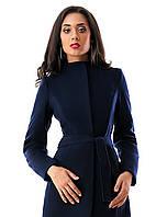 Женское пальто  Мода  р. S.M.L   синее