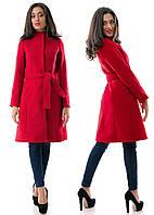 Женское пальто  Мода  р. S.M.L  красное