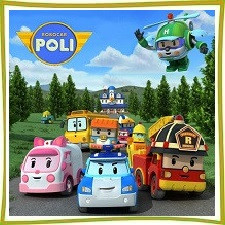 Игрушки с героями мультфильма Робокар Поли