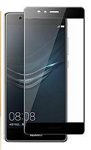 Защитное стекло Optima Full cover для Huawei P9 Lite черный