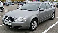 """Audi A6 (C5) - замена штатных линз на биксеноновые линзы Hella 4 3.0""""дюйма, в фарах"""