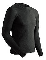 Термобіл.ColdPruf Men's Enthusiast Single Layer Long Sleeve Crew Neck Base Layer Top, Black, Large