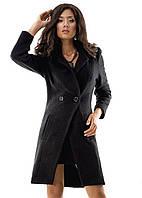 Женское пальто   2 пуговицы   р. S.M.L черное
