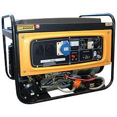 Генератор газ/бензин KIPOR KNGE6000E3 (5.5 кВт, 380 В)