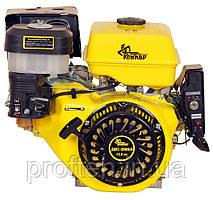 Бензиновый двигатель Кентавр ДВЗ-390БШЛ (13,0 л.с., ручной стартер, шлиц Ø25мм, L=30мм) + доставка