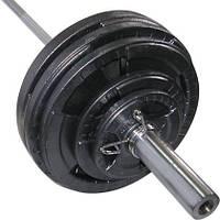 Штанга олимпийская Newt 200 кг (TI-NE0200-2200) 2,2 м, фото 1