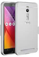 Чехол бампер для Asus ZenFone 2 ZE500CL зеркальный