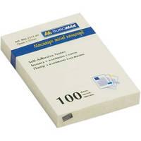 Блок для заметок 51x76мм, 100л., пастельный желтый цвет BUROMAX BM.2311-99