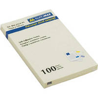 Блок для заметок 76x127мм, 100л., пастель ассорти BUROMAX BM.2314-99