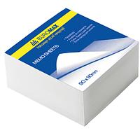 Блок бел. бумаги для записей 80х80/500л. склеенный BUROMAX BM.2204