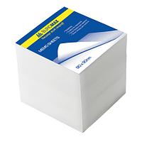 Блок бел. бумаги для записей 90х90/700л. не склеенный BUROMAX BM.2218