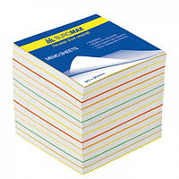 Блок бел. бумаги для записей 90х90/700л. не склеенный BUROMAX BM.2249