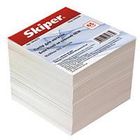 Блок бумаги для записей белой 90х90/900л. не склеенный Skiper Sk-1711