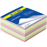 Блок бумаги Декор 80х80/400л. не склеенный BUROMAX BM.2273