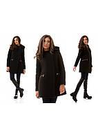 Женское пальто  Силуэт   р. S.M.L черный