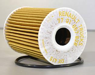 Фільтр масла на Renault Mascott 2004->2010 3.0 dCi — Renault (Оригінал) - 7701057828