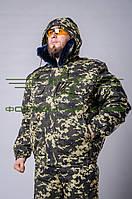 Куртка камуфляжная зимняя Погранец