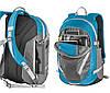 Молодежный мультифункциональный рюкзак с отделением для лэптопа Ferrino Bercy 30 Blue 922892 синий