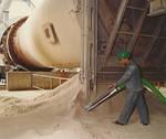 Заводы по производству цемента, извести и гипса.