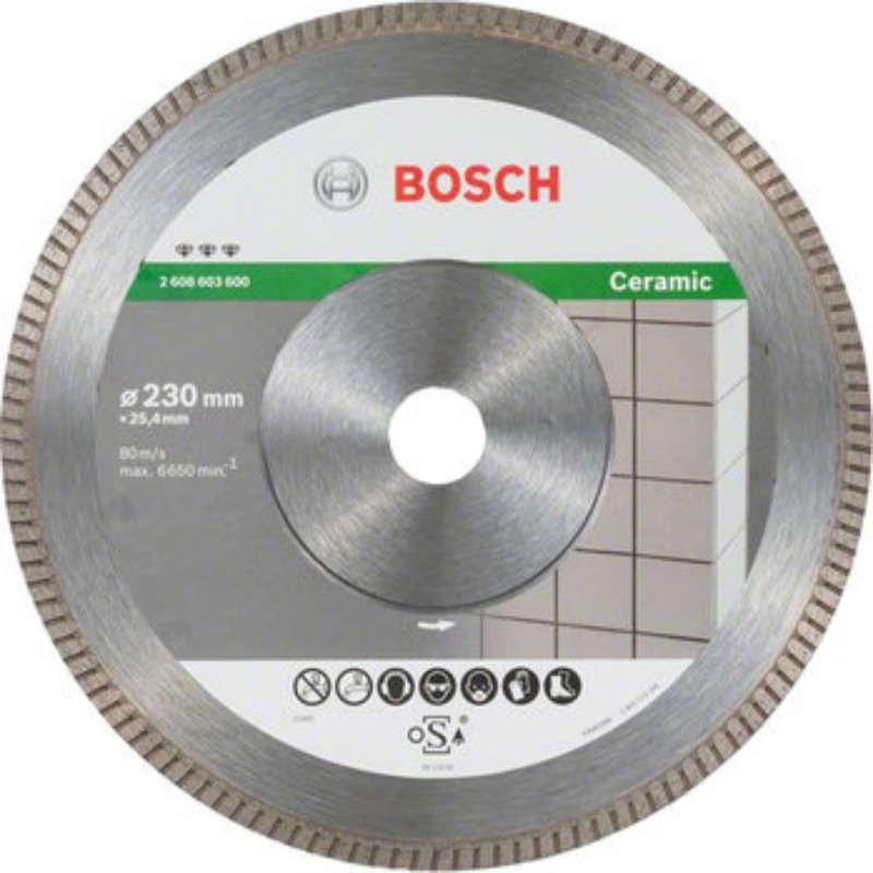 Алмазный диск Bosch Best for Ceramic Extraclean Turbo 230x22.23mm