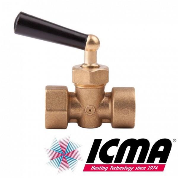"Icma Кран під манометр вода 1/2""."