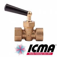 "Icma Кран под манометр вода 1/2""."