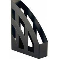 Лоток   для бумаг вертикальный ,черный, Delta by Axent,D4006-01