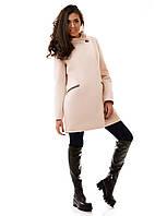 Женское пальто  Силуэт   р. S.M.L молочный