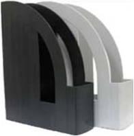 Лоток   для бумаг вертикальный   черный, серый, ECONOMIX,E31901-01