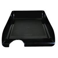 Лоток для бумаги горизонтальный,черный,BUROMAX, BM.6000-01