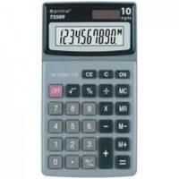 Калькулятор електронный 10 розрядов, 144*80*20мм OPTIMA O75509