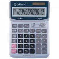 Калькулятор електронний 12 розрядів, 230*165*45мм OPTIMA O75501