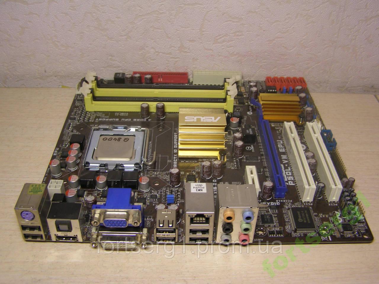 G43 мать 775 P5QL-VM EPU