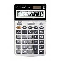 Калькулятор настольный Optima, 12 разрядов, размер 174*108*27 мм (O75521)