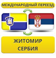 Международный Переезд из Житомира в Сербию