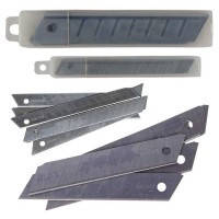 Лезвия для ножей 18 мм. (10 лез.в.уп.) BUROMAX,BM.4691