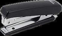 Степлер BUROMAX (скобы №10), черный пластиковый корпус 107х25х54 мм(BM.4127-01)