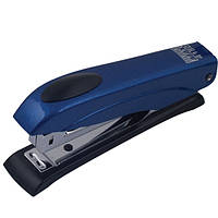 Степлер Buromax (скобы №10), синий металлический корпус (BM.4150-02)
