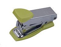 Степлер Buromax (скобы №10), св. зеленый металлический корпус (BM.4151-15)