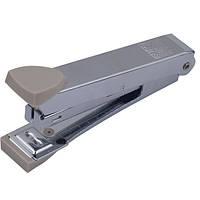 Степлер Buromax (скобы №10), серый металлический корпус (BM.4152-09)