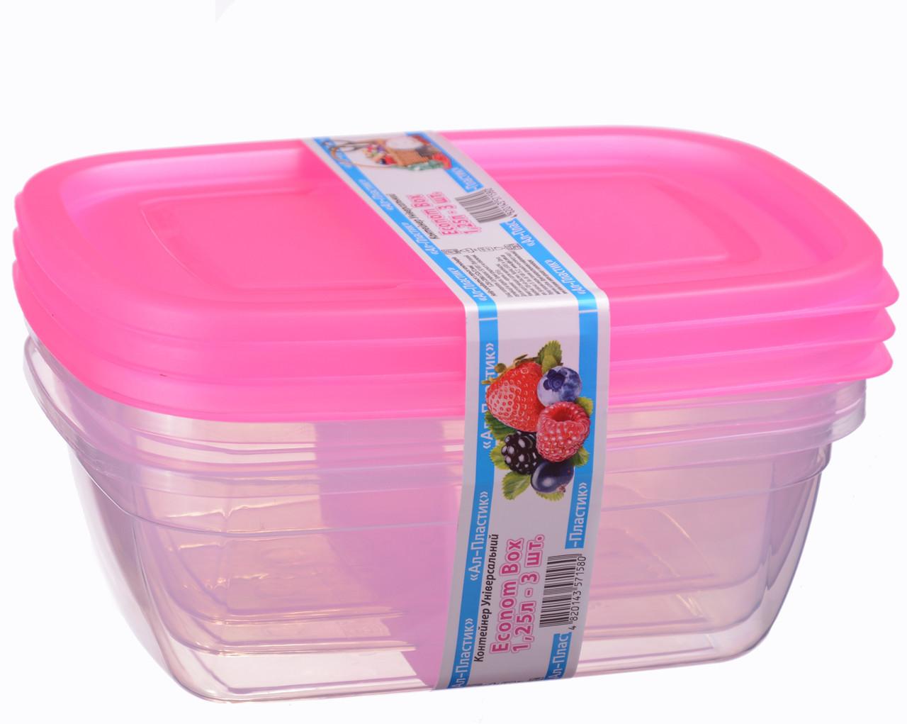 Econom box 1.25 л (3шт)